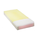 Invacare® Solace® Prevention 3080 Mattress - The soft heel section is upgraded to visco-elastic foam to cr