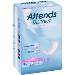 ADLINER - Attends Discreet Panty Liners, 28 count (x24) - Image Number 103565